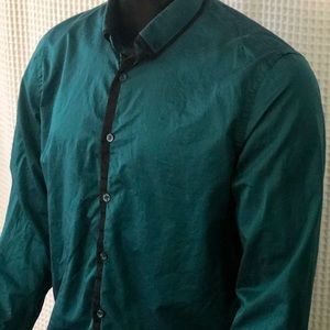 Guess Slim Fit Button Front Long Sleeved Shirt